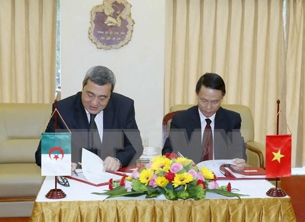 越南通讯社与阿尔及利亚国家通讯社加强合作 hinh anh 2