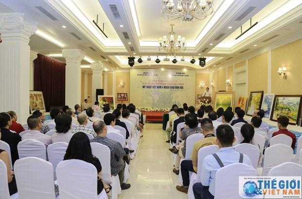 越南努力提高艺术在文化外交活动中的作用 hinh anh 1