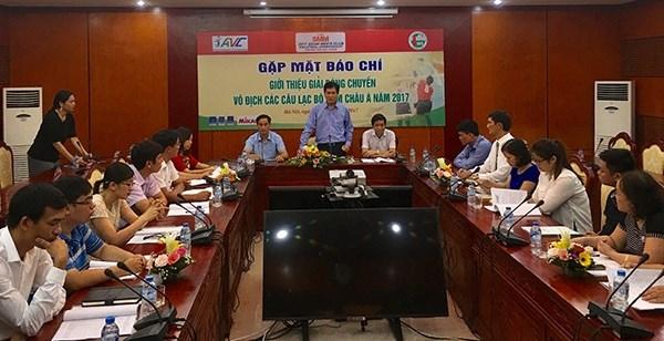 越南首次举办亚洲男排俱乐部锦标赛 hinh anh 1