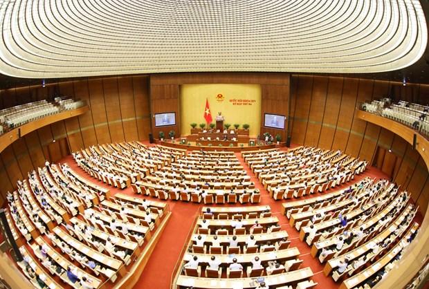 越南第十四届国会第三次会议:政府对公共投资资金到位进度缓慢负责任 hinh anh 3