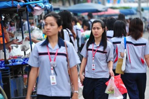 泰国即将采用新的移民劳务法 hinh anh 1