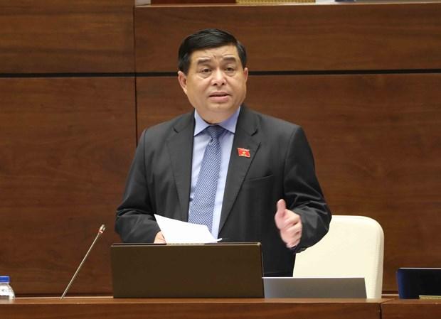 越南第十四届国会第三次会议:政府对公共投资资金到位进度缓慢负责任 hinh anh 1
