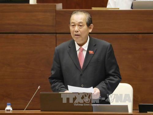 越南第十四届国会第三次会议:应采取突破性措施来克服存在问题 hinh anh 1