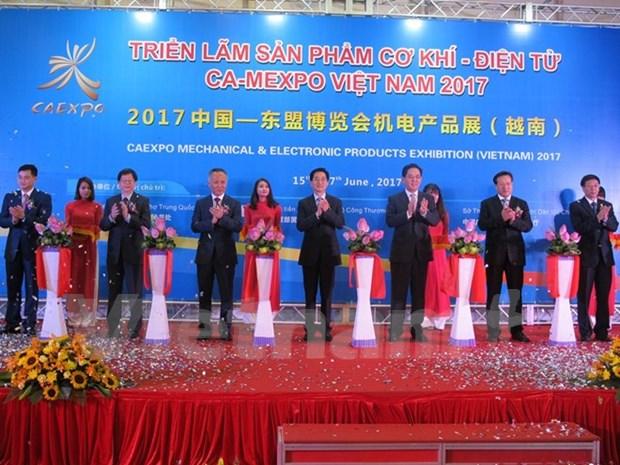 中国—东盟博览会机电产品展(越南)正式开展 hinh anh 1
