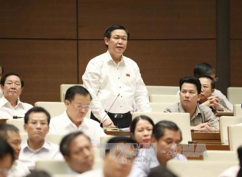 越南第十四届国会第三次会议:政府对公共投资资金到位进度缓慢负责任 hinh anh 2