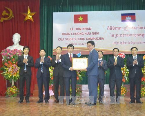 越柬建交50周年:促进越柬两国友谊不断加深 hinh anh 1