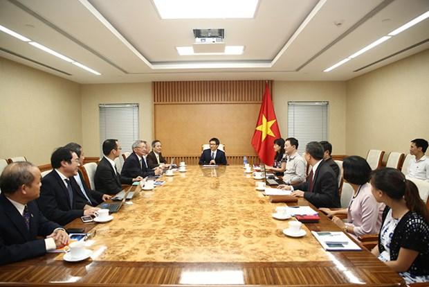 旅外越南专家和科学家为越南集成电路产业发展建言献策 hinh anh 1