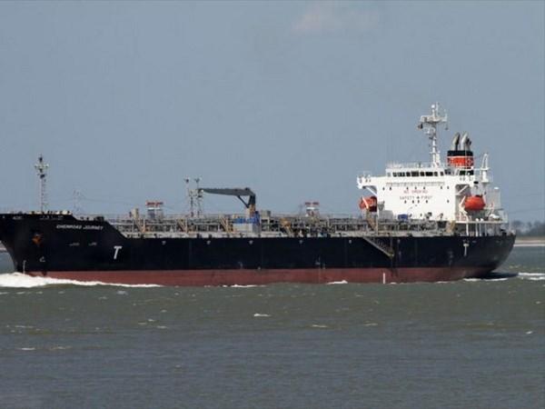 外籍货船搁浅事故:300吨燃油被抽出船头暗舱 保障货轮安全 hinh anh 1