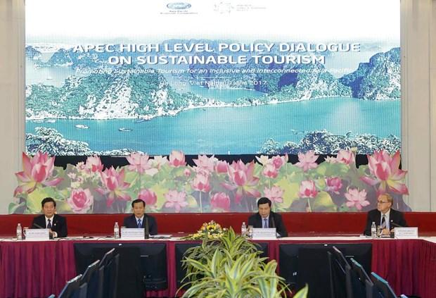 亚太经合组织可持续旅游高级政策对话会在广宁省开幕 hinh anh 2
