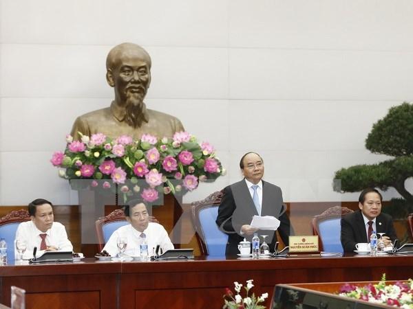 阮春福总理:加大新闻宣传力度 进一步改善经营环境 hinh anh 1