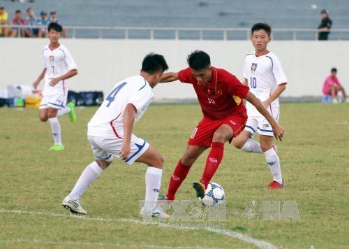 2017年前锋塑料杯U15国际足球比赛圆满落幕 hinh anh 1
