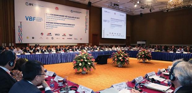 在融入国际经济背景下加强国内企业和外资企业对接 hinh anh 1