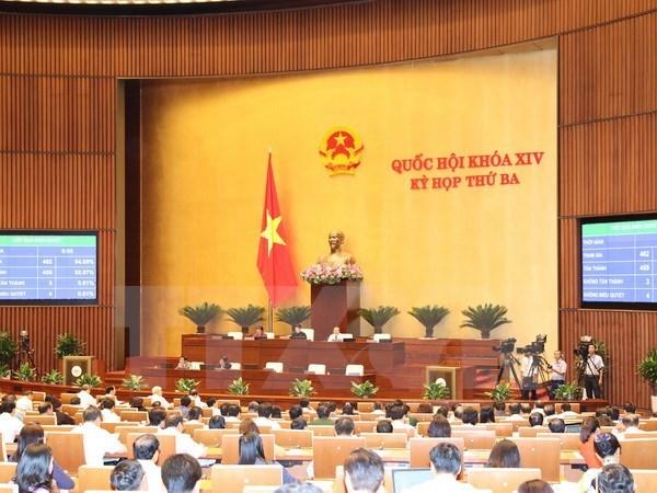 第十四届国会第三次会议第二十一号公报:3项法律和4项决议获通过 hinh anh 1