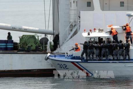 东南亚国家加强海上安全合作 hinh anh 1