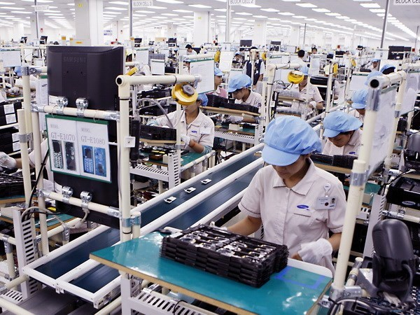 越南手机及零配件出口:外资企业出口占出口总量的99.8% hinh anh 1
