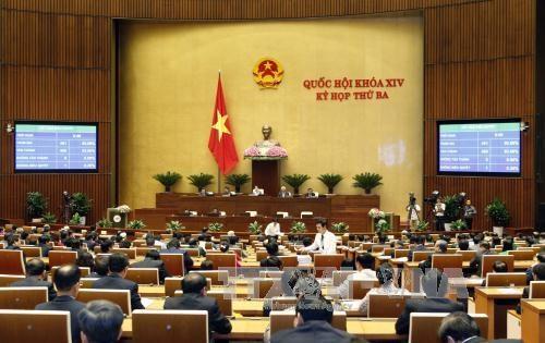 越南第十四届国会第三次会议在河内圆满闭幕 hinh anh 1