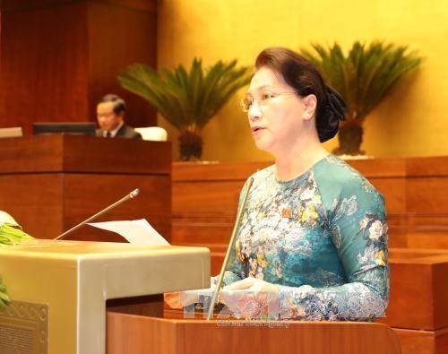 越南第十四届国会第三次会议在河内圆满闭幕 hinh anh 2