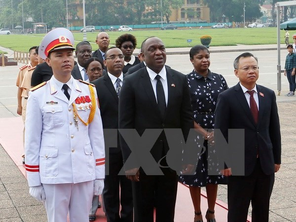 海地共和国参议院议长尤里•拉托尔蒂圆满结束对越南的正式访问 hinh anh 1