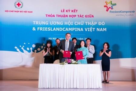 荷兰公司为越南促进学生营养教育提供协助 hinh anh 1