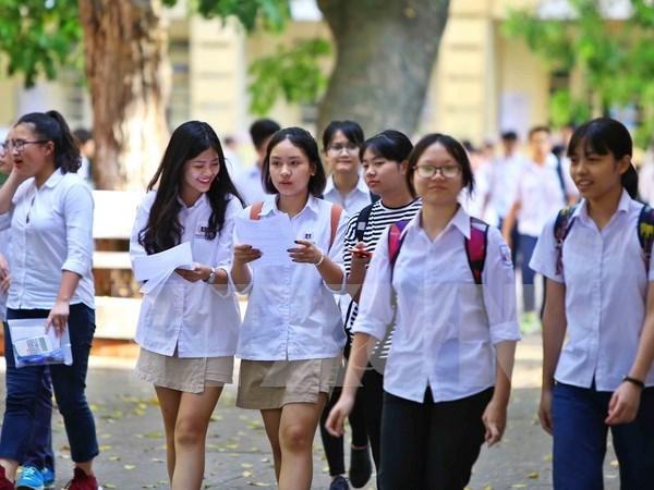 越南全国86.6万学生报名参加高中会考和高考统一考试 hinh anh 1