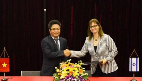 越南与以色列加强航天科学与技术合作 hinh anh 1