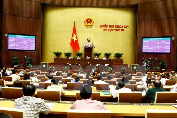 越南14届国会3次会议:革新团结创新 服务国家和人民利益 hinh anh 1