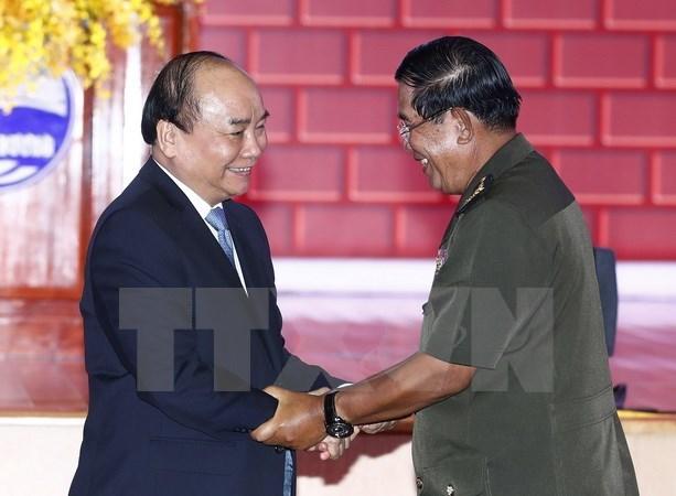 越柬建交50周年:共同面向未来 hinh anh 1