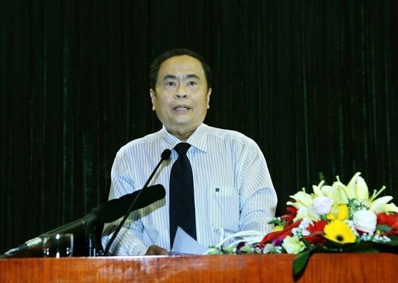 陈青敏担任第八届越南祖国阵线中央委员会主席 hinh anh 1