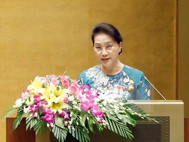 越南第十四届国会第三次会议发表第23号公报 hinh anh 1