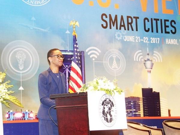 美国驻越南大使:美国愿同越南分享智慧城市建设经验 hinh anh 1