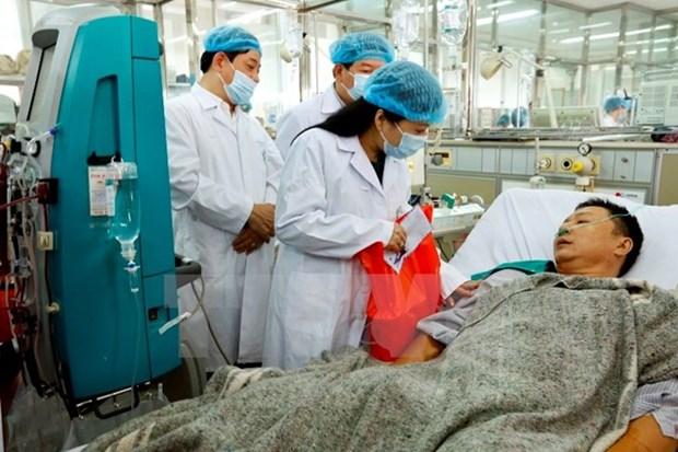 和平省严重医疗事故:3名嫌犯被拘留起诉 hinh anh 1