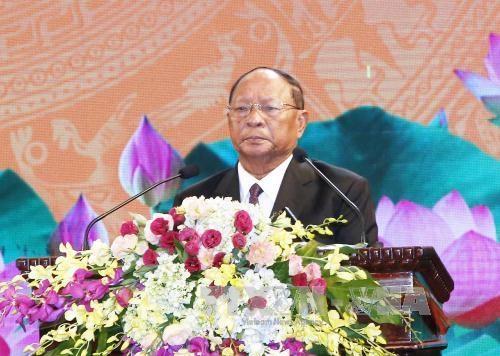 越南与柬埔寨建立外交关系50周年纪念大会在河内举行 hinh anh 3