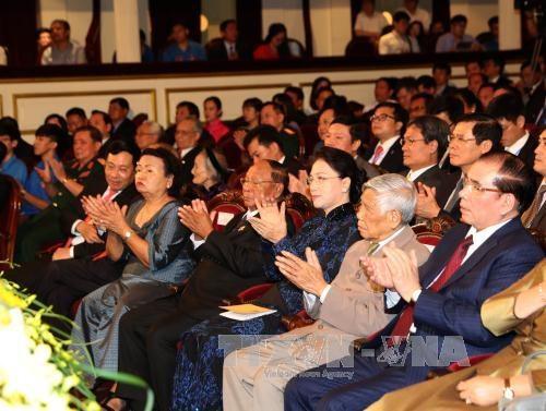 越南与柬埔寨建立外交关系50周年纪念大会在河内举行 hinh anh 4