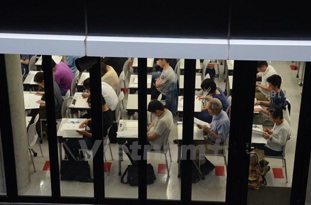 近400名日本考生报名参加越南语能力测试 hinh anh 1
