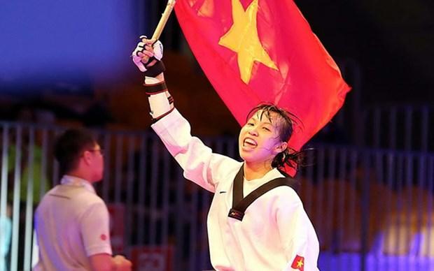 越南跆拳道选手首次获得世界跆拳道锦标赛银牌 hinh anh 1