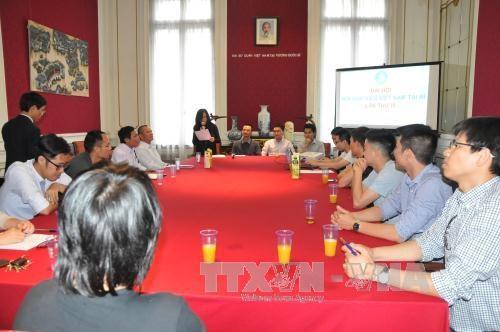 旅比越南大学生应为推介越南饮食文化作出积极贡献 hinh anh 1