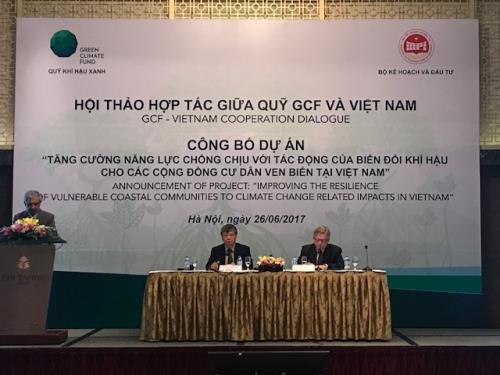 国际组织协助越南提高气候变化适应能力 hinh anh 1