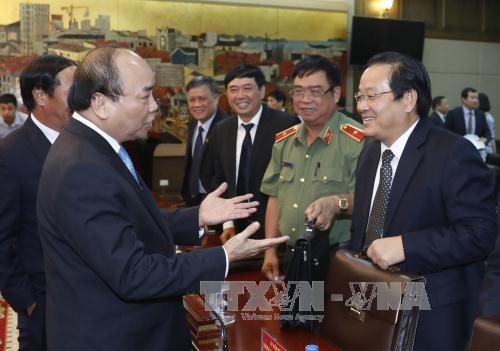 越南政府总理阮春福: 用好社会资本 把海防市打造成北部沿海地区的发展动力 hinh anh 1