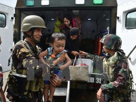 菲律宾军方在南部停火八小时庆祝开斋节 hinh anh 1