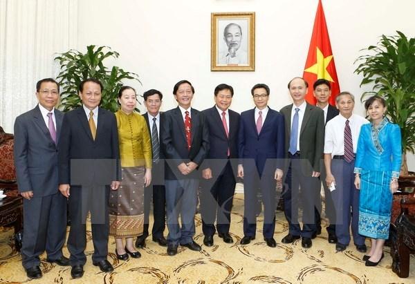 越南与老挝加强卫生领域合作 hinh anh 1