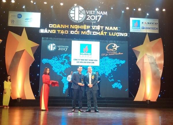 平山炼油厂成为2017年质量十强企业 hinh anh 1