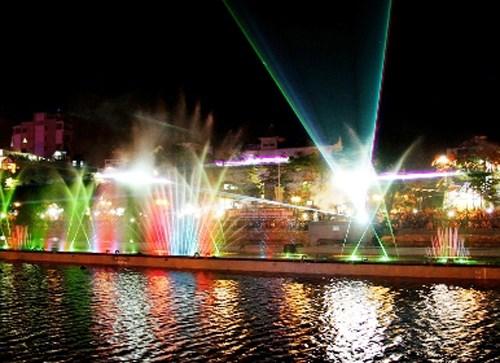 胡志明市拟于8月份推出音乐喷泉表演活动 hinh anh 1