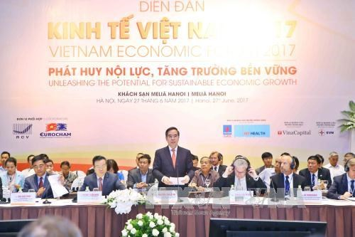 2017年越南经济论坛:发挥内力实现可持续增长 hinh anh 1
