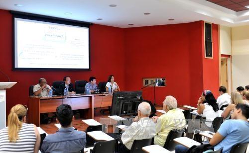 """""""越南和太平洋盆地正在谈判中的超级协议""""学术研讨会在古巴举行 hinh anh 1"""