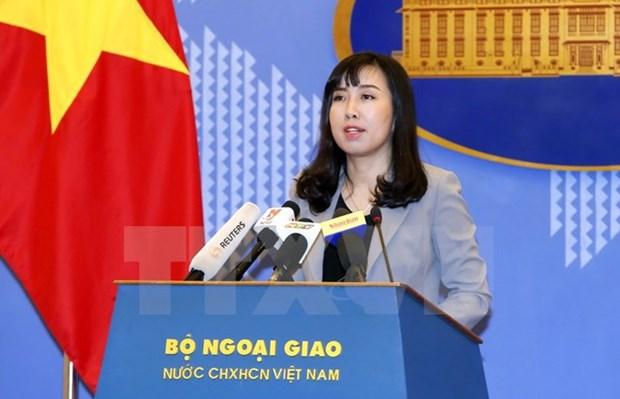 越南外交部发言人黎氏秋姮:及时采取必要措施保护旅韩越南公民 hinh anh 1
