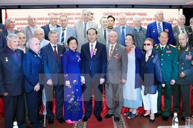 陈大光主席:俄罗斯始终是越南值得信赖的朋友 hinh anh 1