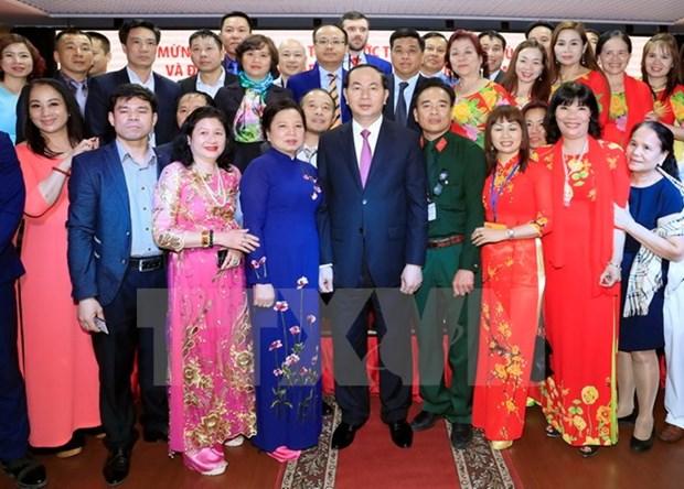 陈大光主席:俄罗斯始终是越南值得信赖的朋友 hinh anh 2