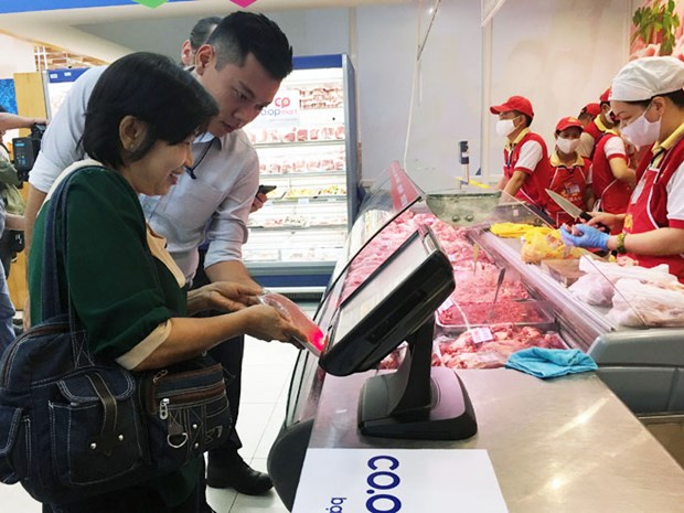 2017年上半年胡志明市商品零售和服务业总额达205亿美元 hinh anh 1