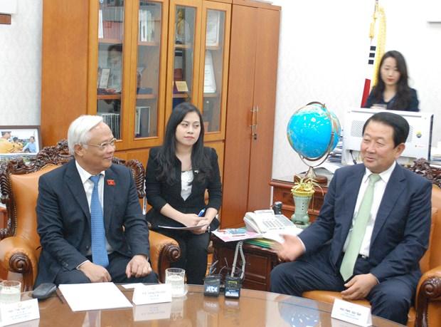 越南国会副主席汪周刘访问韩国 hinh anh 2