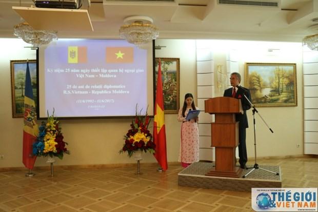越南与摩尔多瓦纪念建交25周年 hinh anh 1